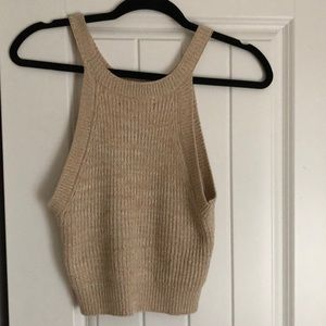 crochet tang top